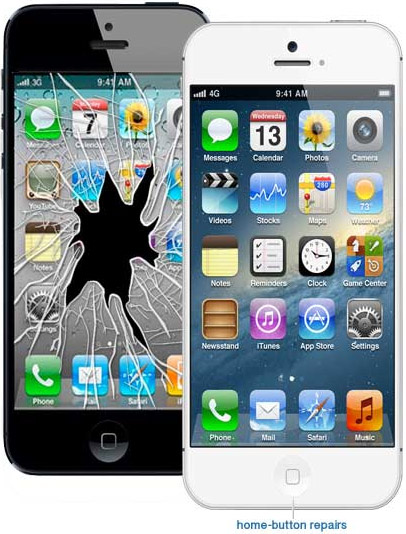 Thay mặt kính iPhone 5 chính hãng