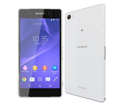Thay mặt kính Sony Z2