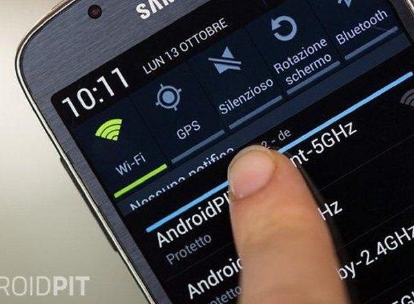 điện thoại Samsung không bắt Wifi